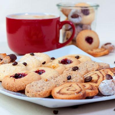 Kuchen, Kekse und Desserts